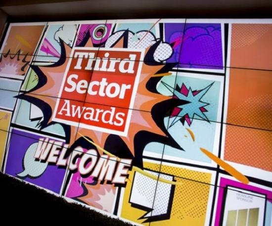 Success at the Third Sector Awards 2017