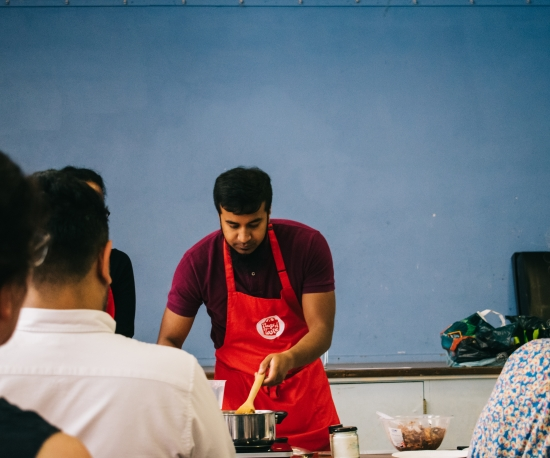 Bags of Taste cooking classes in Tower Hamlets