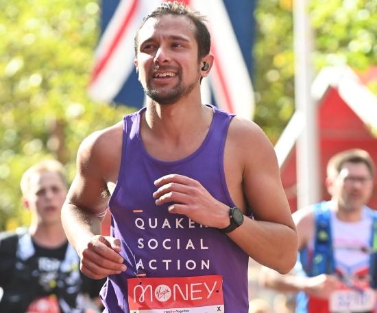 QSA trustee runs London Marathon in four hours